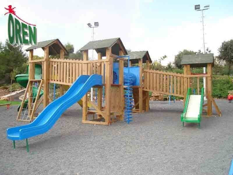 Wooden Playground Equipment Oren Playground