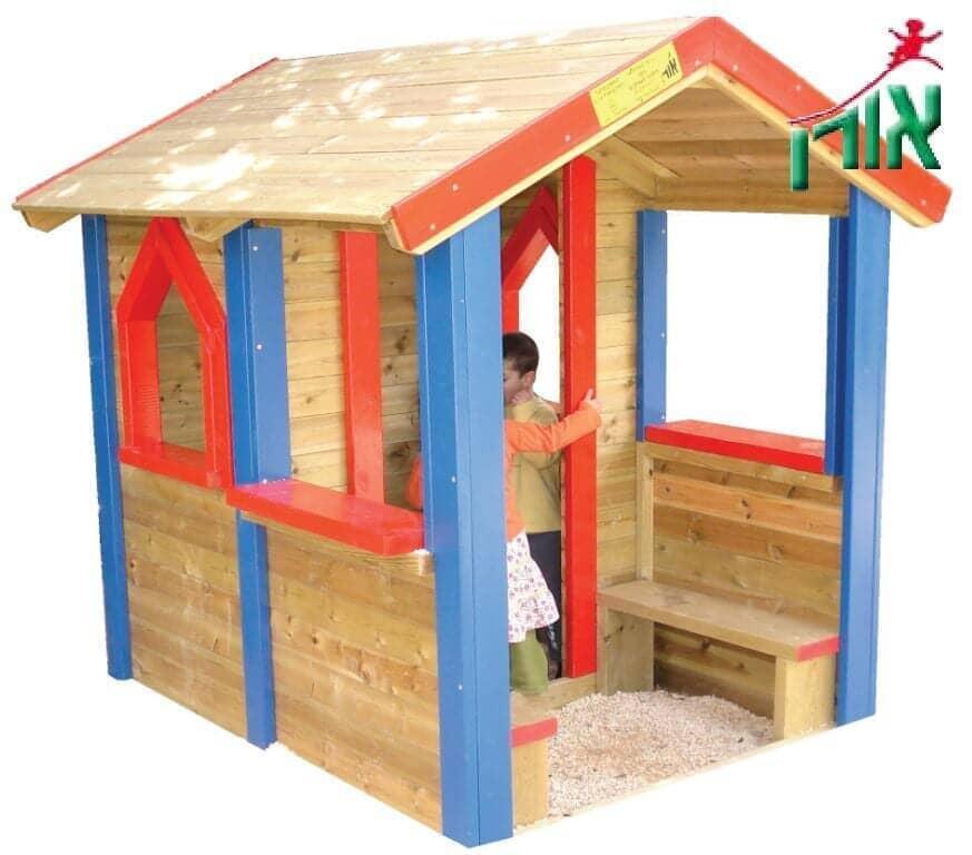 מדהים בתים לילדים מעץ - אורן מתקני משחקים YO-26