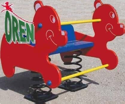 Playground Equipment slides | School Playground Equipment | Wooden Playground Equipment | Commercial Playground Equipment | Elements Playground Equipment - Double Spring - 1509