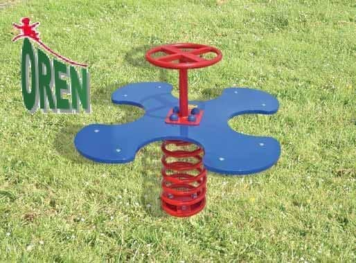 Playground Equipment slides | School Playground Equipment | Wooden Playground Equipment | Commercial Playground Equipment | Elements Playground Equipment - Spring Flower - 1511