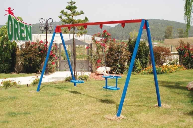 Playground Equipment slides | School Playground Equipment | Wooden Playground Equipment | Commercial Playground Equipment | Elements Playground Equipment - Metal Swings - 1400