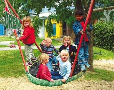 Playground Equipment slides | School Playground Equipment | Wooden Playground Equipment | Commercial Playground Equipment | Elements Playground Equipment - Swings - 1414