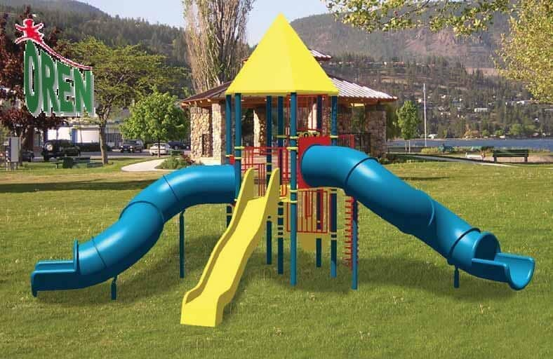 Playground equipment - playground garden - playground - yard playground - playground and sports kindergarten playground - wooden playground equipment - Saturn - 1201