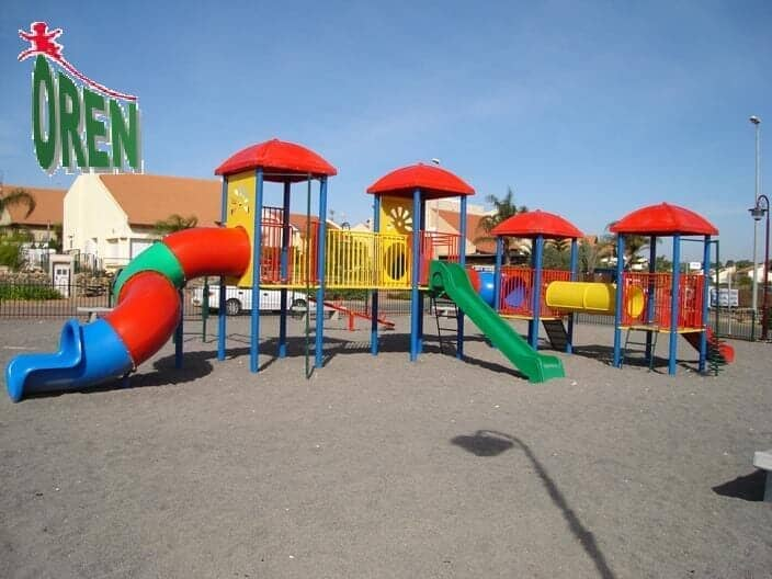 Playground Equipment slides | School Playground Equipment | Wooden Playground Equipment | Commercial Playground Equipment | Elements Playground Equipment - Metal Rose Rose - 1405