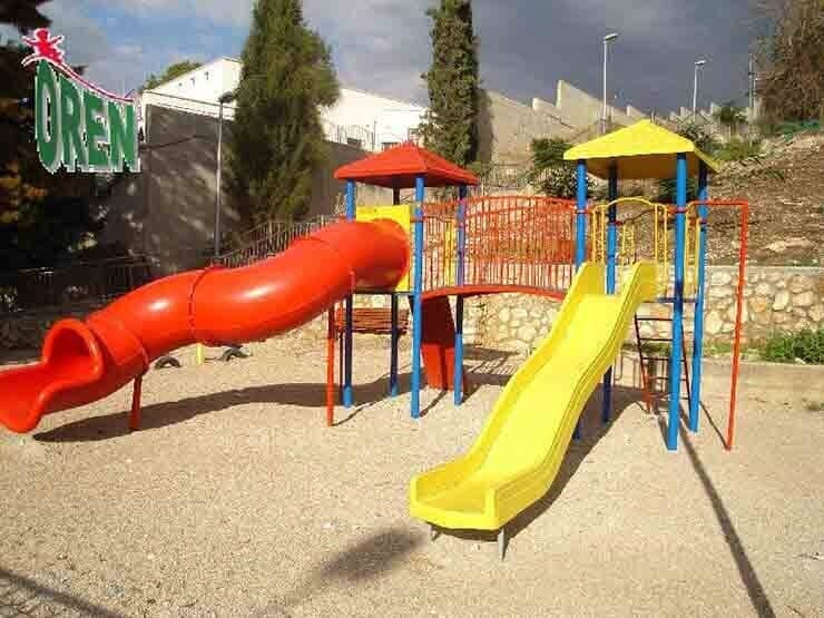 Playground equipment - playground garden - playground - yard playground - playground and sports kindergarten playground - wooden playground equipment - Agmon - 1210