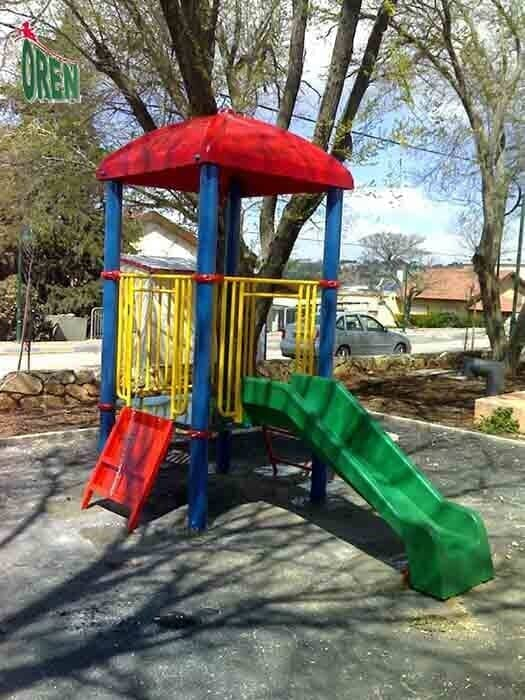 Playground equipment - playground garden - playground - yard playground - playground and sports kindergarten playground - wooden playground equipment - Crystal - 1217