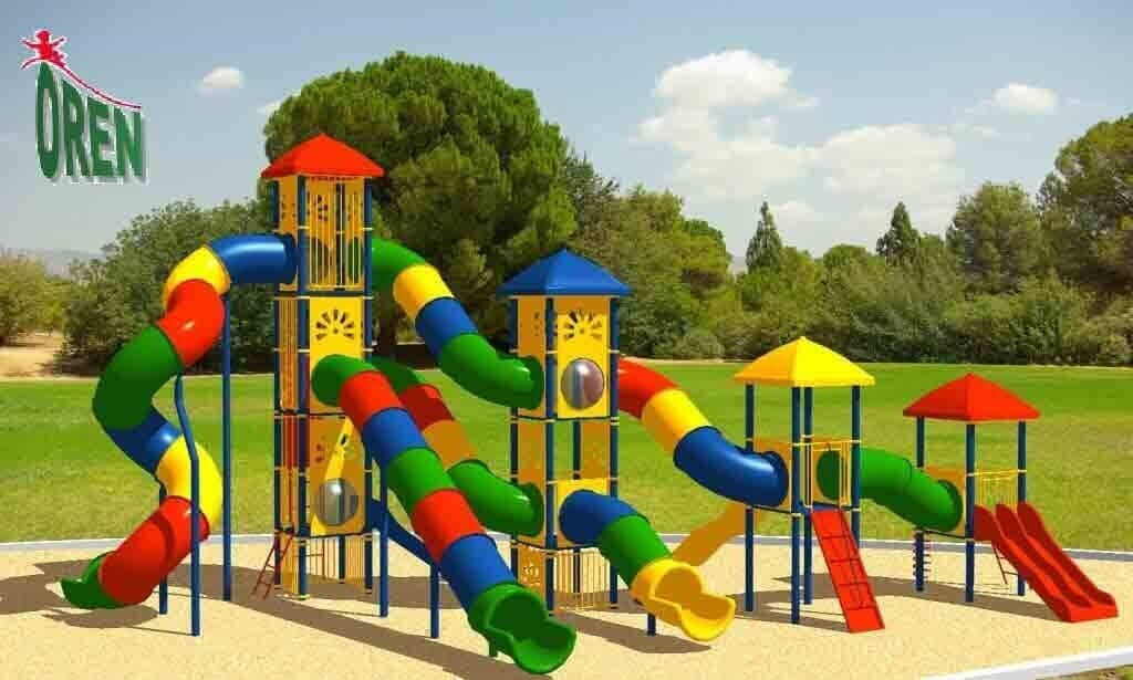 Playground equipment - playground garden - playground - yard playground - playground and sports kindergarten playground - wooden playground equipment - Tzedek - 1220
