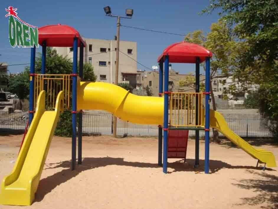 Playground equipment - playground garden - playground - yard playground - playground and sports kindergarten playground - wooden playground equipment - Uranus - 1221