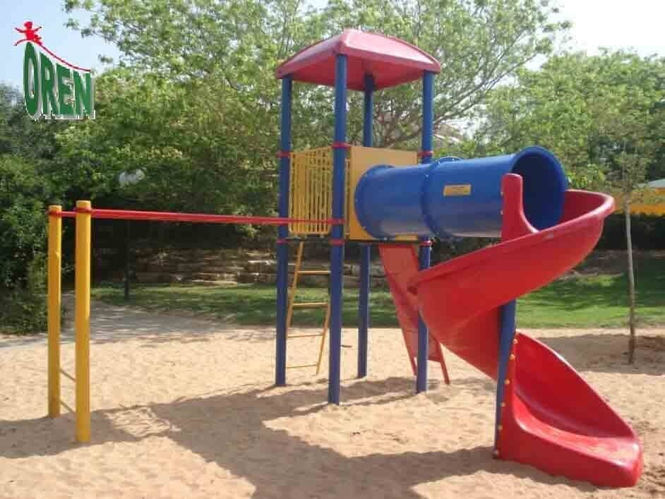 Playground equipment - playground garden - playground - yard playground - playground and sports kindergarten playground - wooden playground equipment - Shavit - 1223
