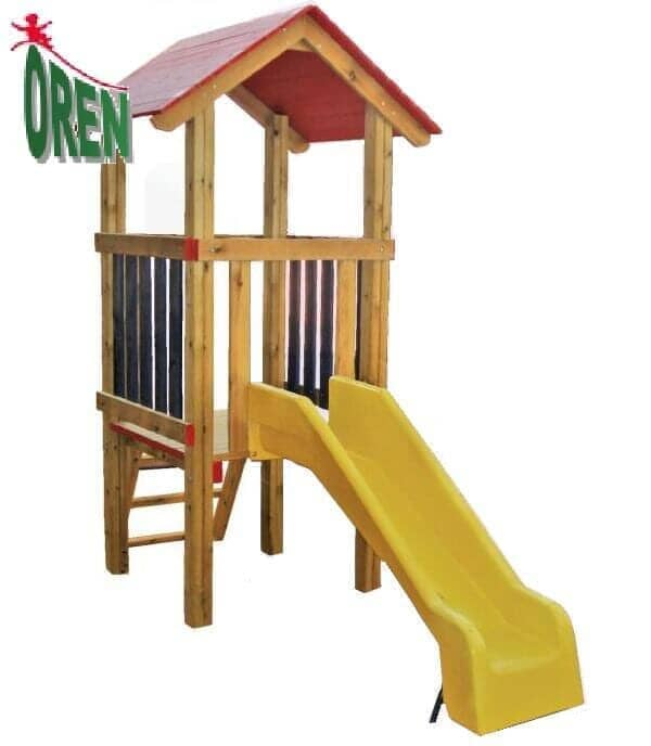 Yard facilities - Facilities for kindergarten - kindergarten facilities - Facilities Garden - Facilities garden - kindergarten playground - a wooden cottage - 1302